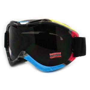 2f94f1e91566 Details about Ski Snowboard Goggles Anti Fog Shatter Proof Lens Geometric  Design