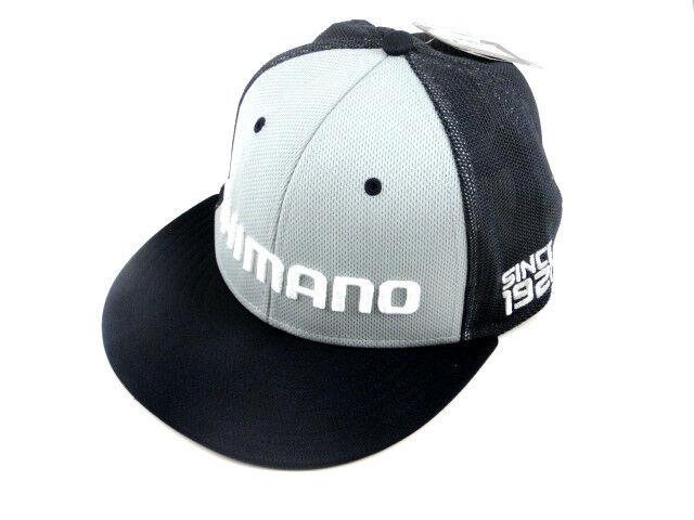 abfce2cd Shimano Logo Flatbill Proflex Q3 Fitted Hat Navy Mesh Fishing Mens Size  Med/lg for sale online | eBay