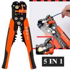 Wire Stripper Cable Cutter Hand Crimper Self Adjustable Terminal Stripping Tool