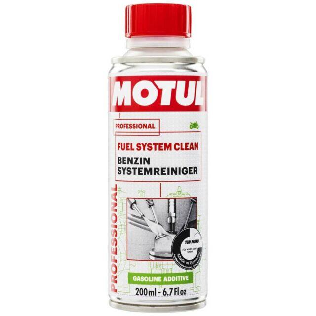 MOTUL Additivo Pulizia Lavaggio IniettoRi FUEL SYSTEM CLEAN MOTO 200ML