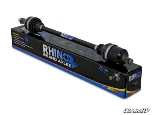 SuperATV Rhino Brand Heavy Duty REAR Axle for Polaris RZR S 1000 2016+