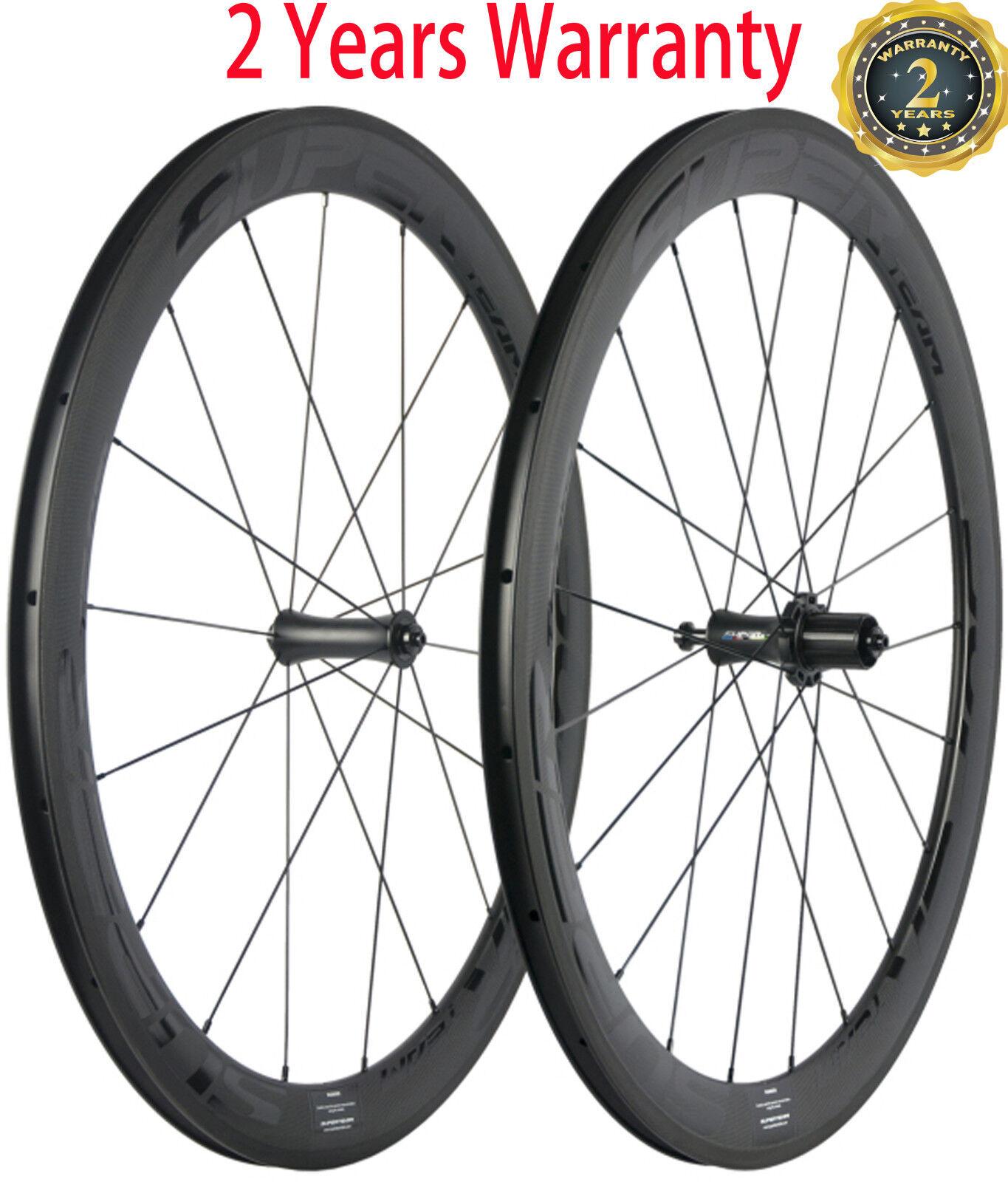 700C 38 50 60 88mm Carbon Wheels 25mm Width Carbon Road Bike Bicycle Wheelset