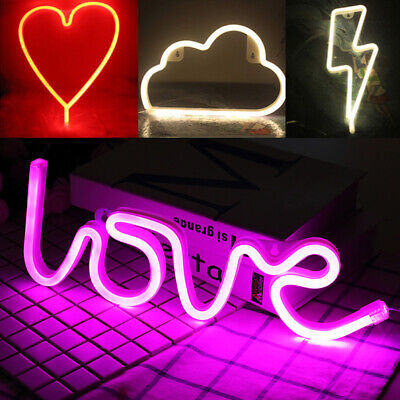 Neon Sign Light Wall Night Lamp Led Room Flamingo