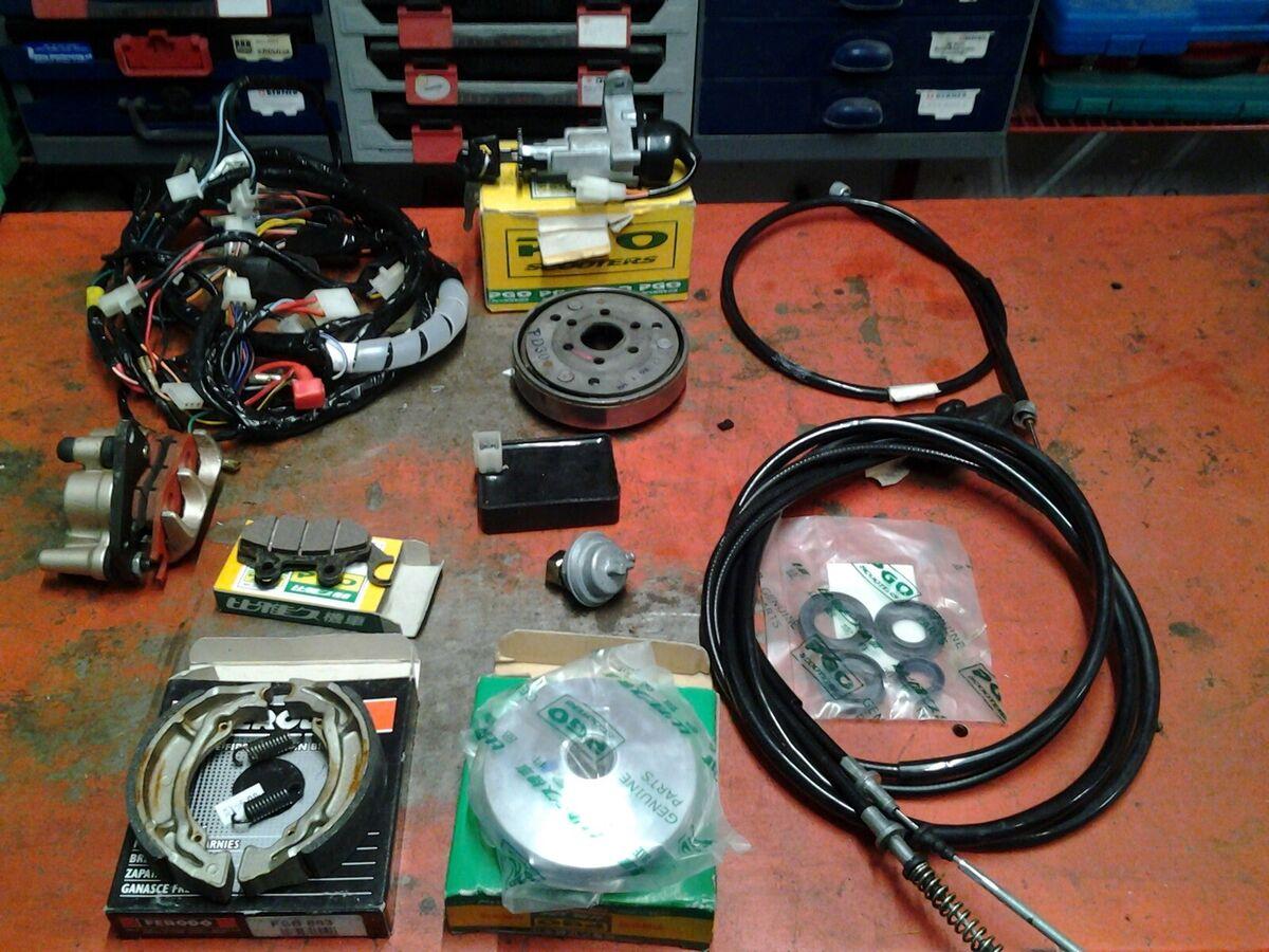 Speedometer til PGO PMX Naked 50 2T - Gratis levering