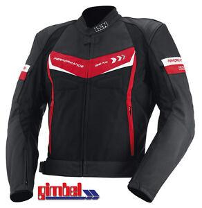 IXS-Chaqueta-de-moto-cuero-textil-Rockford-1-a-Calidad-Superior-NUEVO