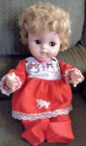 Details about Vintage Eegee Doll 1960s Foam Body Wired Limbs Camilla??  Sleep Flirt Eyes 18