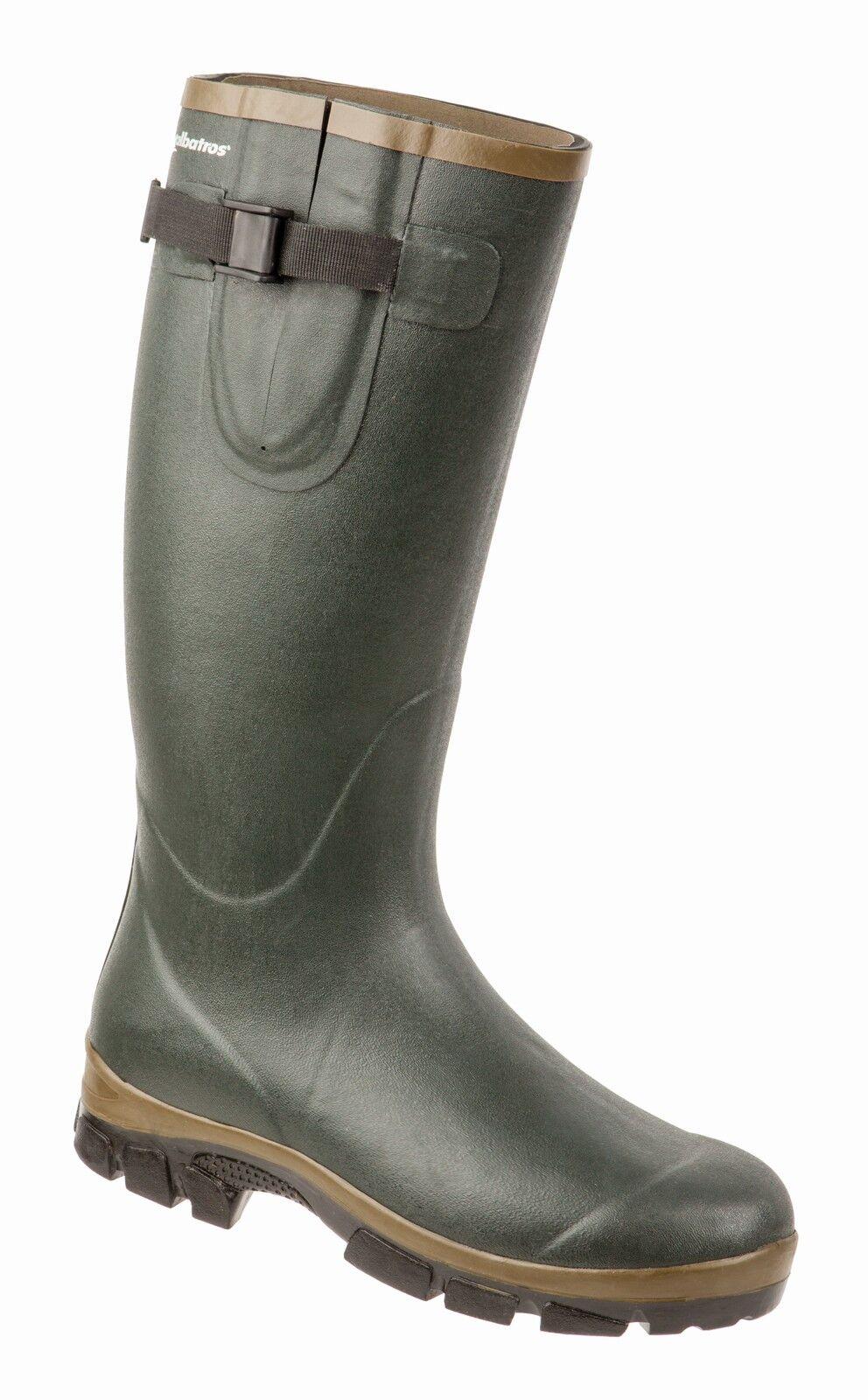 ALBATROS    Forest ISO Stiefel 575530 grün Neoprenstiefel Jagdstiefel Gummistiefel f4b41b