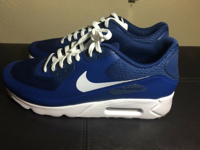 Best Sell Nike Air Max 90 Ultra Essential Dark Obsidian Blue Ocean 819474 405 Men's Footwear Running Shoes 819474 405