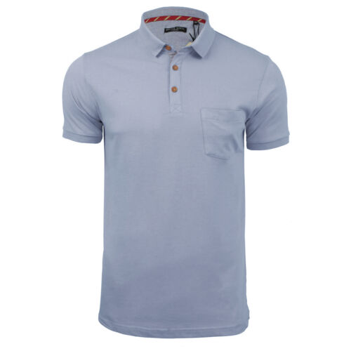 Mens Polo T Shirt Brave Soul Julius Cotton Collared Short Sleeve Casual Top