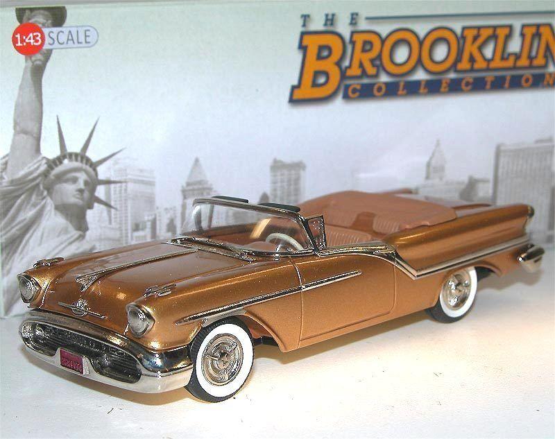 Brooklin models BRK 194 1957 Oldsmobile Super 88 2-Door convertible or 1 43