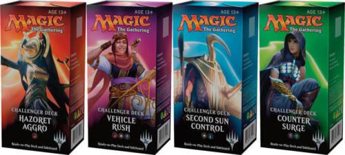 2018 Magic the Gathering Challenger Decks Set of 4