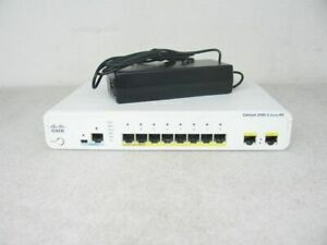 Cisco-WS-C3560CPD-8PT-S-8-Port-GE-PoE-Compact-Switch-3560-1-Year-Warranty