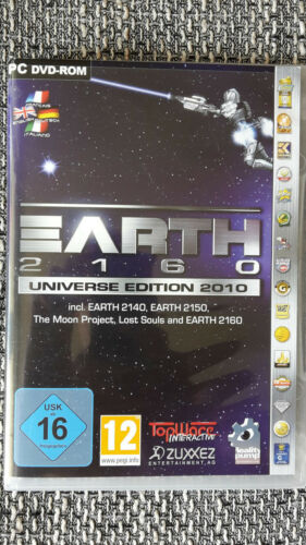 1 von 1 - Earth 2160 - Universe Edition 2010 (PC, 2010, DVD-Box)