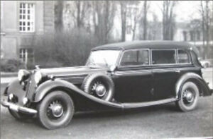 Ilario-IL43142-1-43-Horch-951-Pullman-Cabriolet-1937-ONLY-50-LIMITED-PRE-ORDER