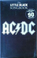 AC / DC - LITTLE BLACK SONGBOOK - 240 PAGE PAPERBACK - 90 CLASSICS - 2008