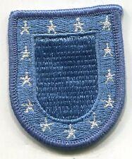 US ARMY BERET FLASH - BLUE