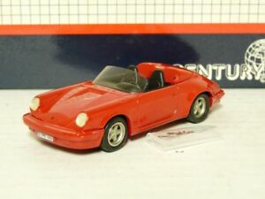 Century-AMR-10-1-43-039-88-Porsche-911-Speedster-White-Metal-Handmade-Model-Car