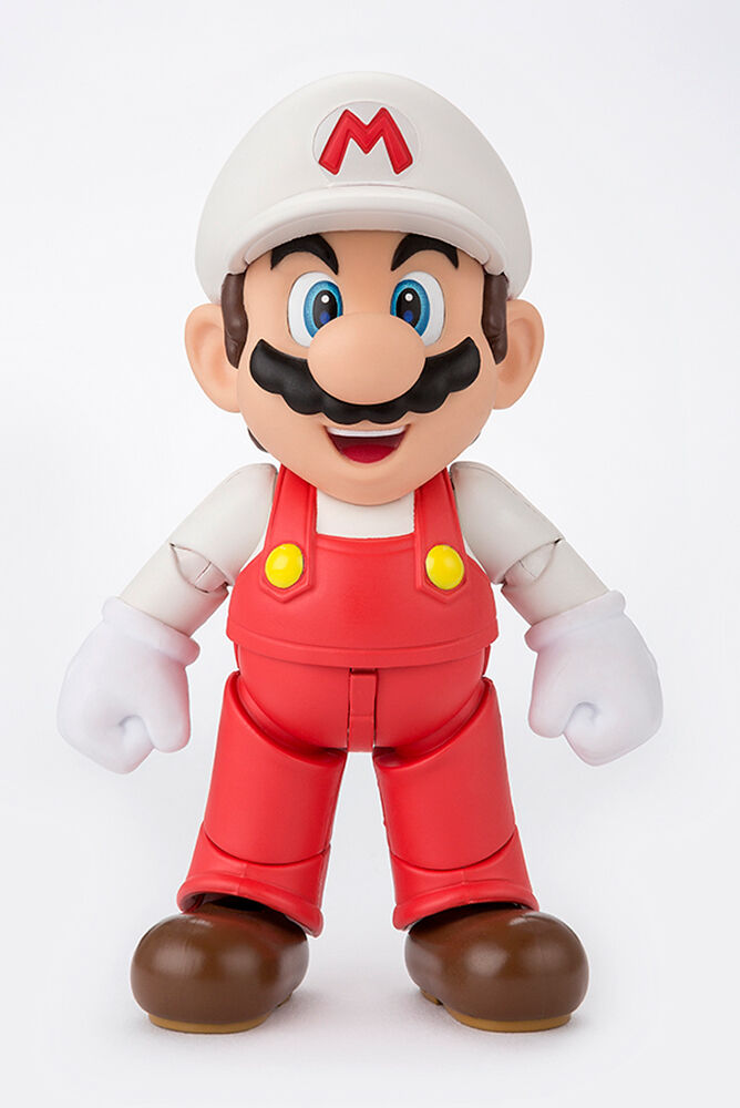 Super Mario Fire Mario S.H. SH Figuarts Tamashii WEB EXCLUSIVE Action Figure