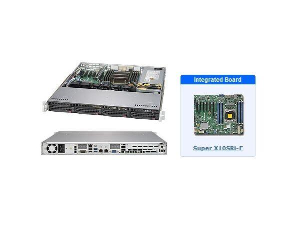 *NEW* Supermicro SYS-5018R-M 1U Server with X10SRi-F MB ***FULL MFR WARRANTY***