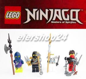 Details Zu 4er Set Lego Ninjago Cole Kai Ming Zane Limited Edition Ninjas