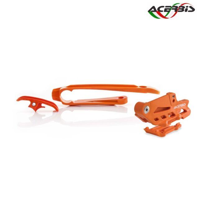 ACERBIS Set Slide + Scroll Chain Orange For KTM 350 EXC F 4T 2017-2021
