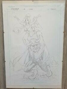 Original Art Sketch Cover Grimm Fairy Tales: Myths Legends #12 Megacon Exclusive