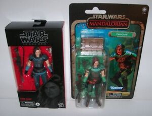"""Retired new Star Wars Black Series 6"""" Gina Carano CARA DUNE Figure Lot sold-out!"""