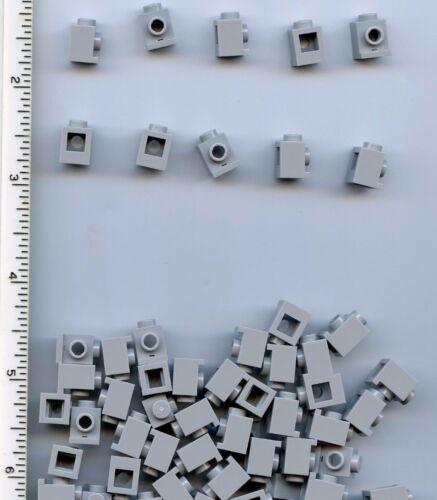 LEGO x 50 Light Bluish Gray Brick Modified 1 x 1 with Headlight NEW 4070