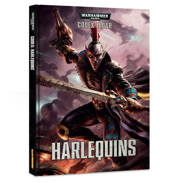 Warhammer 40k Harlequins CODEX ELDAR FACTORY SEALED Games Workshop NEW ITA