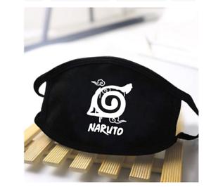 1x Mundschutz Naruto Black Manga anime cosplay Schutzkleidung Maske OVP Geschenk