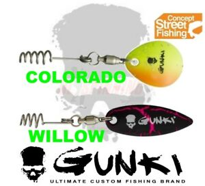 GUNKI-Street-Fishing-Concept-Fix-Flash-Soft-Lure-Bait-Spinner-Blade-Srews-Jig