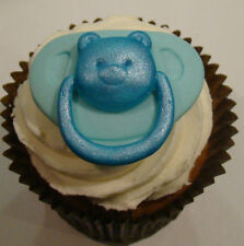 Grande Stampo in silicone BABY DUMMY Teddy Bear Per Battesimo cupcake icing FIMO IN RESINA