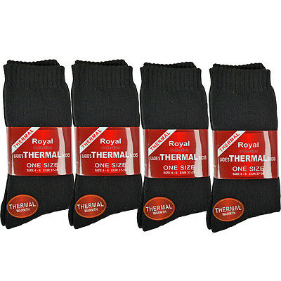 12 PAIRS THERMAL SOCKS WALKING WINTER WARM THICK RICH HIKE SPORTS BOOT