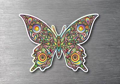 Butterfly sticker 7 year water & fade proof vinyl ipad car laptop