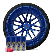 Plasti Dip Flex Blue 4 Pack Wheel Kit Spray Aerosol Cans Dyc Dip Release