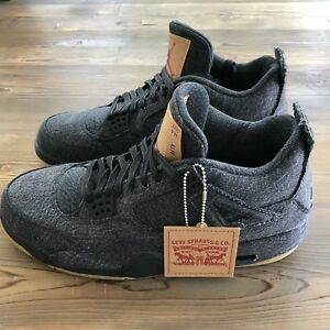 the best attitude dfc93 4d008 Image is loading New-Deadstock-Nike-Air-Jordan-Retro-4-Levis-