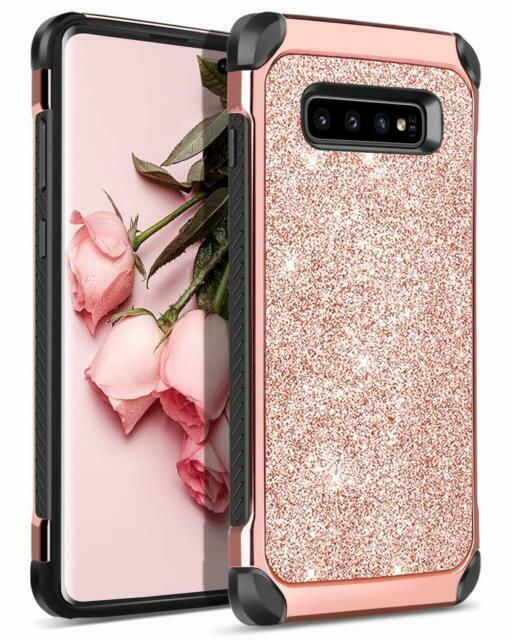 Bentoben Case For Samsung Galaxy S10 Plus 2 In 1 Luxury Glitter Shockproof Spar For Sale Online Ebay
