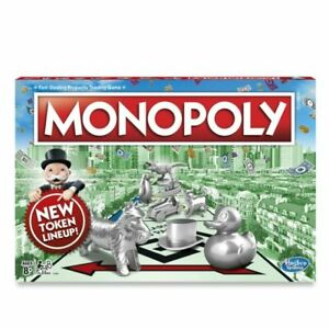 Hasbro Monopoly Classic Family Board Game - C1009
