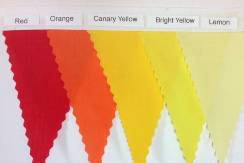 Choose your own Colours Various lengths weddings.. Fabric Bunting parties