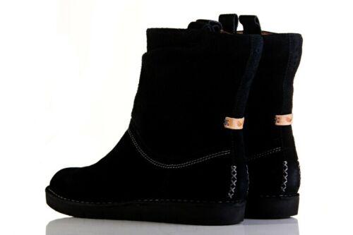 Un Botas de Unstructured Ashburn 5d mujer de negra gamuza mujer Clarks 3 Ashtured estilo para para PrnwWPpqxI