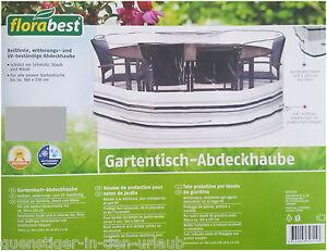 Das Bild Wird Geladen Gartentisch Abdeckhaube Schutzhuelle Huelle Tisch  Amp Stuehle 160