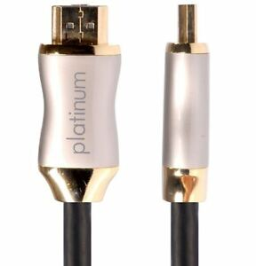 1m HDanywhere Platinum HDMI Cable High Speed with Ethernet Ultra HD 4K 1080p