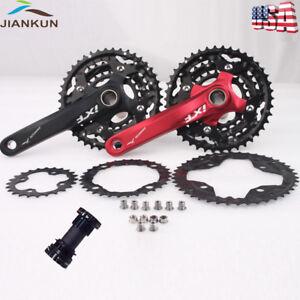IXF-MTB-Bike-Crankset-BCD-104-64mm-24-32-42T-Sprocket-3x10S-Triple-Speed-with-BB