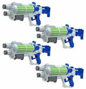 4X-Agua-Pistola-White-Star-Galaxy-Guerras-Soldado-Imperial-Bomba-Accion-Tirador