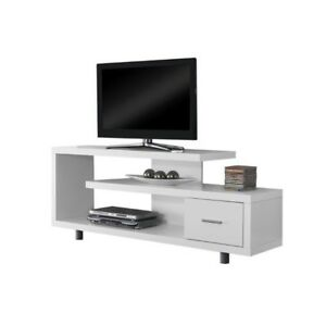 Buy Monarch Specialties I 2573 White Tv Stand 60 Online Ebay