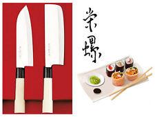 2 Traditionelle japanische Kochmesser Sushi Messer Nakiri Deba zwei Küchenmesser