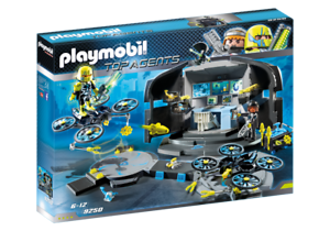 Playmobil 9250 - Dr Drone's Command Base - NEW