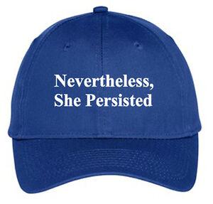 Nevertheless-She-Persisted-Hat-Cap-Elizabeth-Warren-Liberal-Democrat