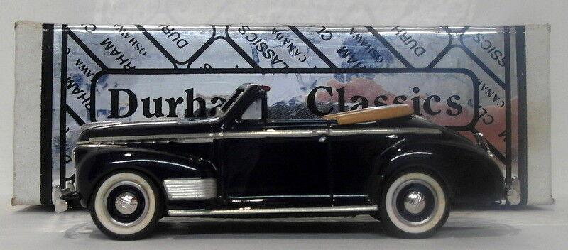 Durham Classics 1 43 Scale DCJ04 - 1941 Chevrolet Deluxe Congreenible - Dk blueee