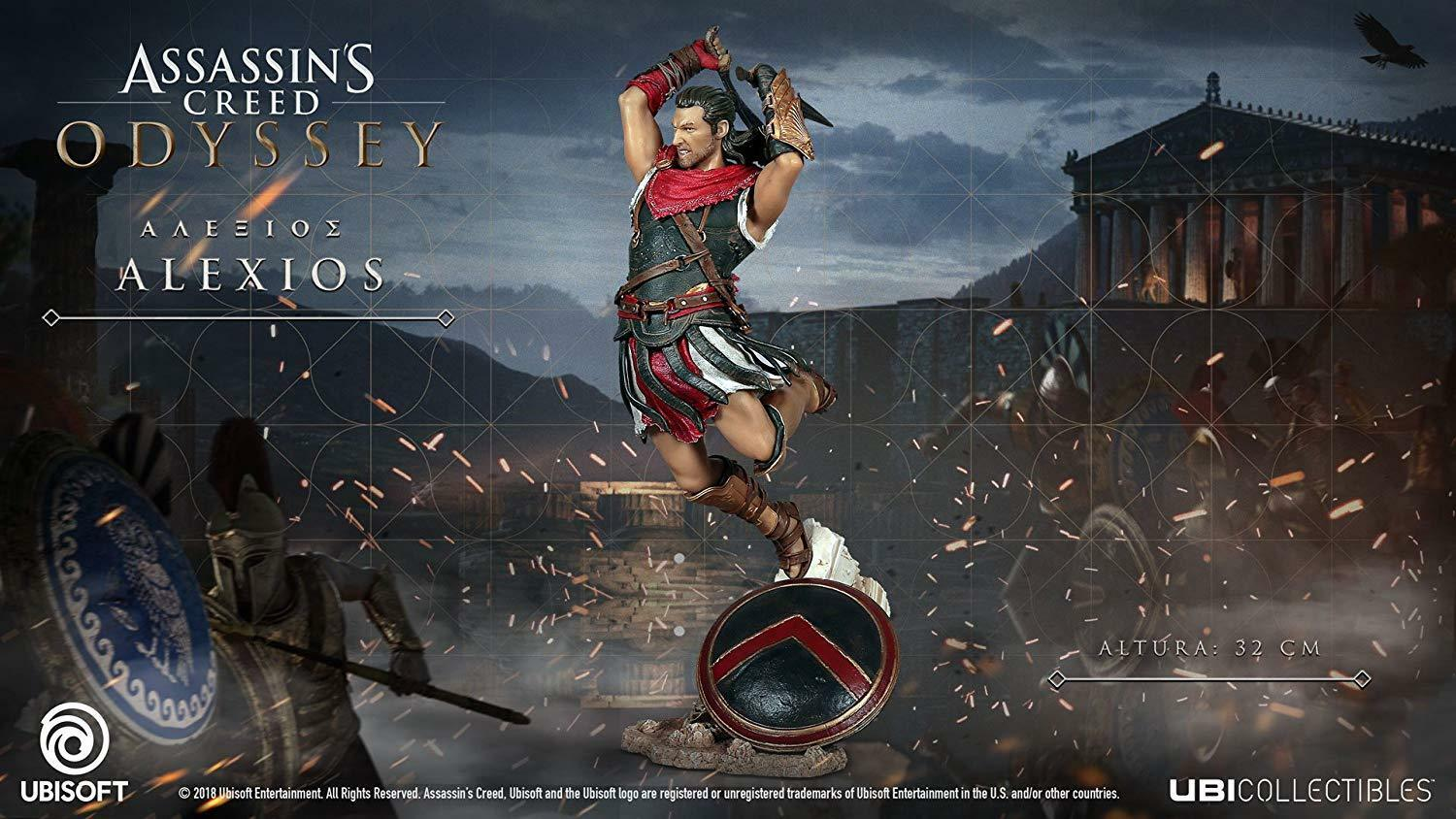 UbiCollectibles Assassins Creed Odyssey 12.5  Alexios PVC Statue (BRAND NEW)